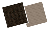 Neutrals and brown blinds swatches