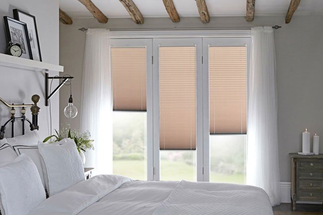 Wood effect blinds