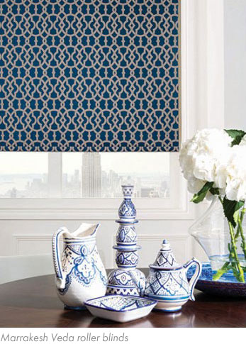 Marrakesh Veda roller blind