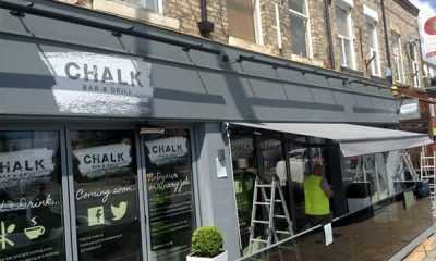 Image of Commercial Awning –<br/> Chalk Bar & Grill