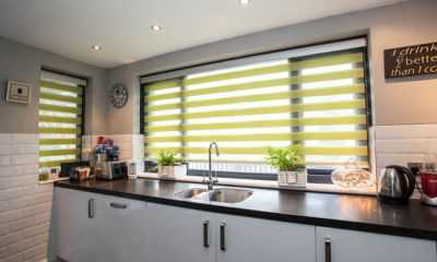 Image of Twist vision kitchen blinds