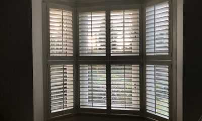Image of Tier On Tier Shutters in Bay Window
