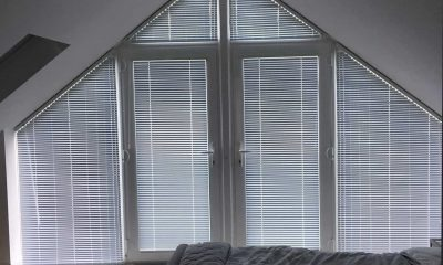 Image of Shaped Aluminium Venetians