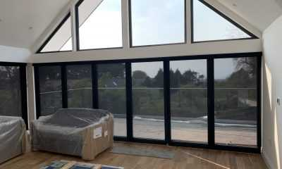 Image of Automated Shutters using Clear Fabric