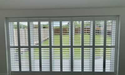 Image of Panel Shutters on Bifold Doors